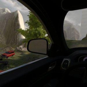 Al volante della Jeep nella storia, magia Oculus