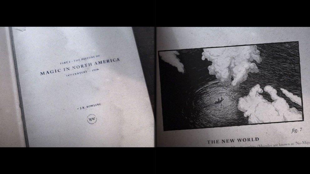 """J. K. Rowling vi guida dentro la """"Storia della magia in Nord America"""""""