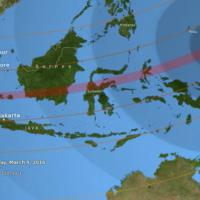 Eclissi solare, asteroide e Giove gigante: i tre grandi eventi di questa notte