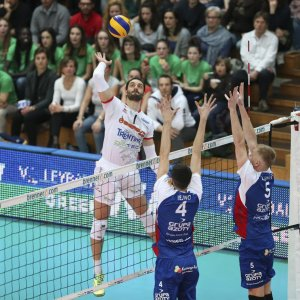 Volley, Superlega: colpo Trento, torna Kaziyski