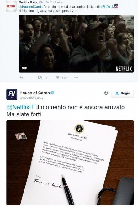 Netflix e Sky fanno litigare gli Underwood: battibecco sui diritti di House of Cards