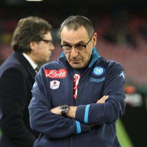 Napoli, Sarri e il nodo contratto. Per il rinnovo aspetta il club