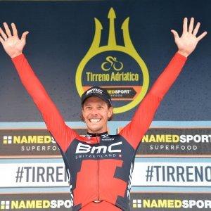 Ciclismo, Tirreno-Adriatico: cronosquadre alla BMC, il primo leader è Daniel Oss