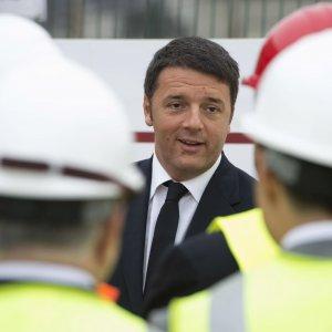 """A3, Renzi a Mormanno:  """"Ci vuole Italia che corre, Alta Velocità fino a Reggio Calabria"""""""