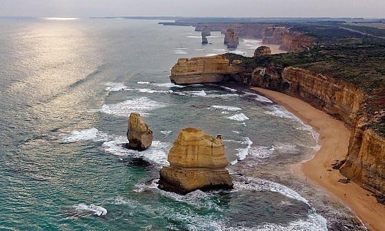 Australia. Gli Apostoli sono anche sott'acqua
