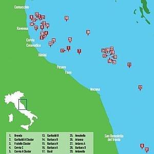 Greenpeace: nei nostri piatti anche cozze prese dalle piattaforme adriatiche