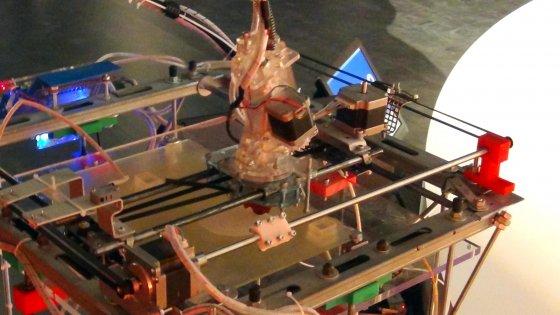 La stampante 3D compie 30 anni