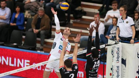 Volley, Superlega: Lube vince col brivido, colpo Perugia