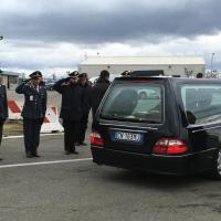 Sardegna, arrivata all'aeroporto di Cagliari la salma di Fausto Piano