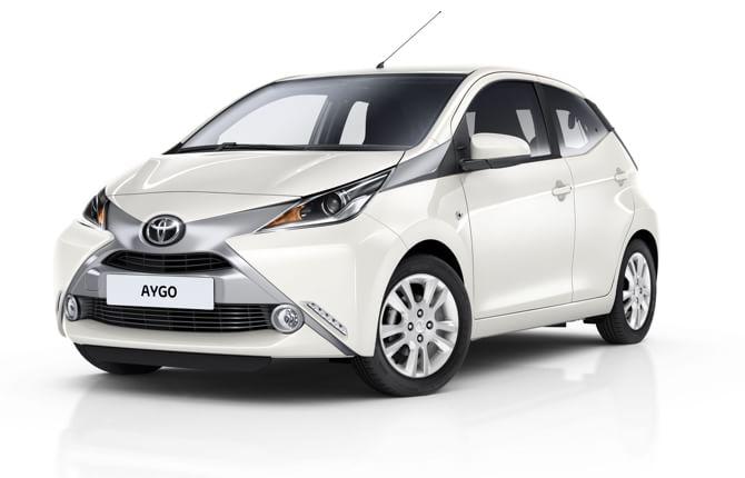 Nuova Aygo x- pure, Toyota all'attacco
