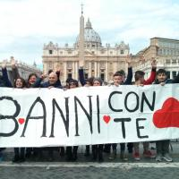La maratona di preghiera per papa Francesco
