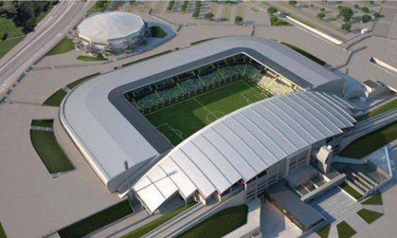 Dacia Arena, inaugurato il nuovo stadio
