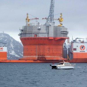 Eni accende il giacimento Goliat nei ghiacci dell'Artico