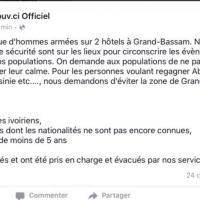 Costa d'Avorio, il governo su Fb pubblica il bilancio ufficiale poi il post viene rimosso