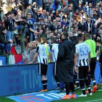 Udinese, giocatori sotto la curva: rischiano la squalifica