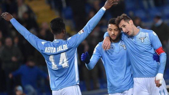 Lazio-Atalanta 2-0: Klose si sblocca, bergamaschi a picco
