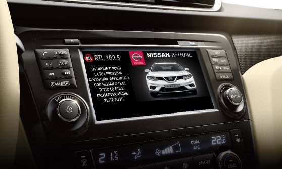 Idea Nissan, la radio si guarda