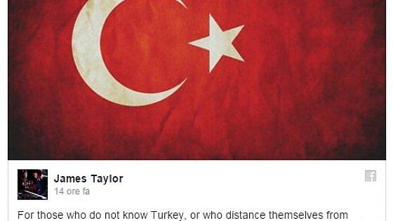 """Siete stati Charlie, siete stati Parigi. Perché non provate lo stesso per Ankara?"""