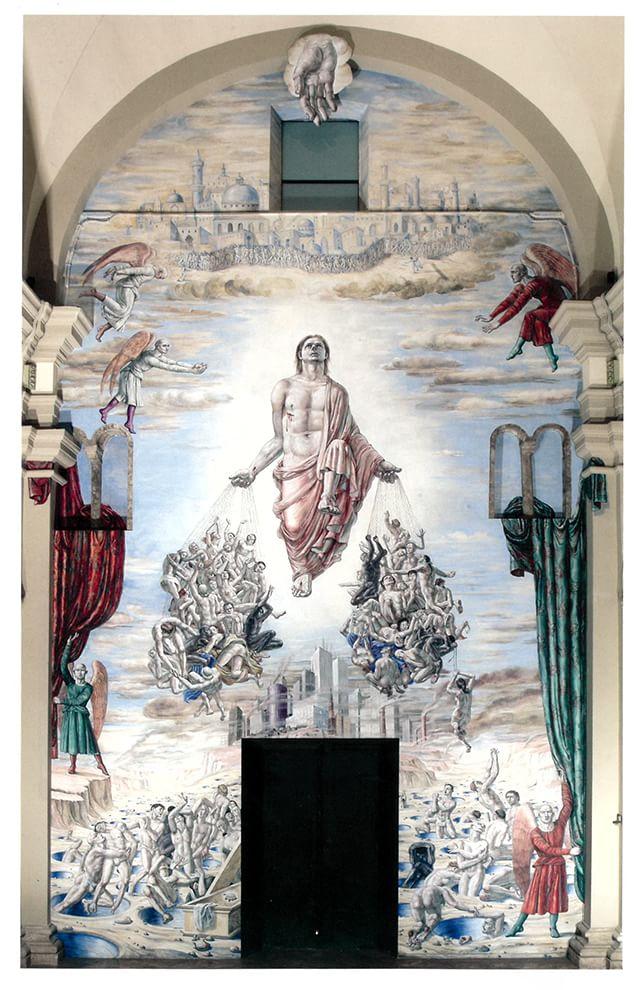Duomo di Terni, nella Risurrezione di Ricardo Cinalli anche gay e trans vanno in cielo