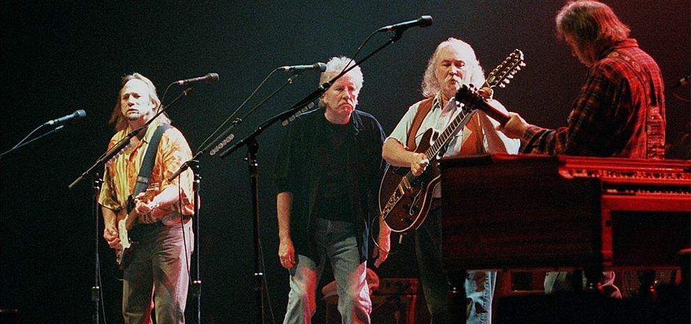 Webnotte, che superospite: Graham Nash racconta una lunga storia di musica