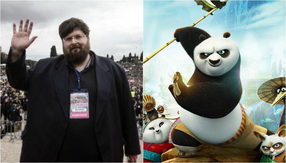 """Adinolfi contro Kung Fu Panda: """"Fa il lavaggio del cervello ai bambini"""""""
