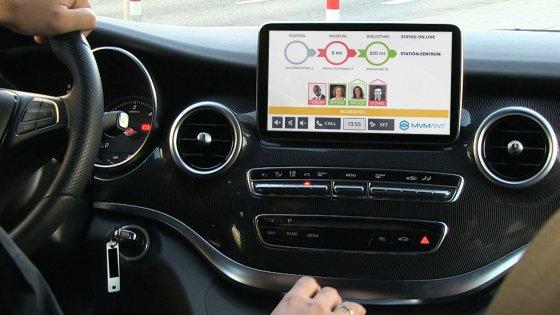 """Mobilità, la app per muoversi in città con il """"taxi collettivo"""""""