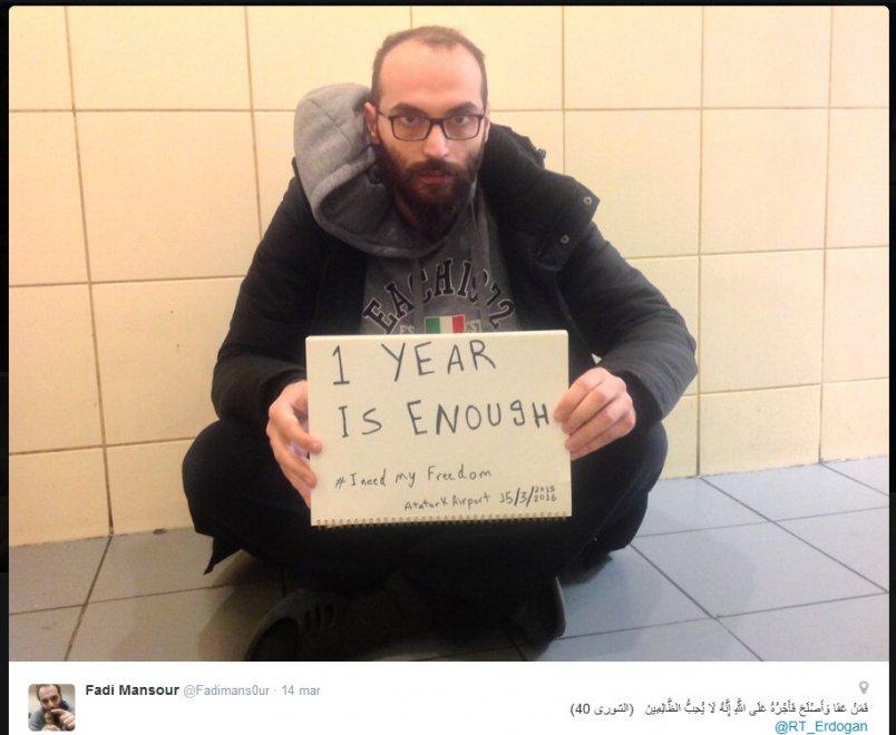 Dalla Siria alla Turchia: l'odissea di Fadi, ''prigioniero'' dell'aeroporto