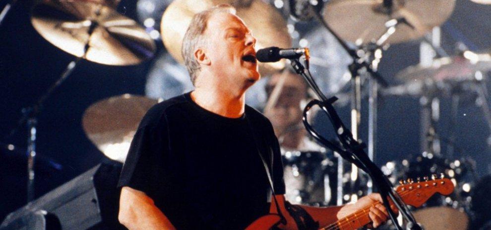 David Gilmour in concerto a Pompei, 45 anni dopo