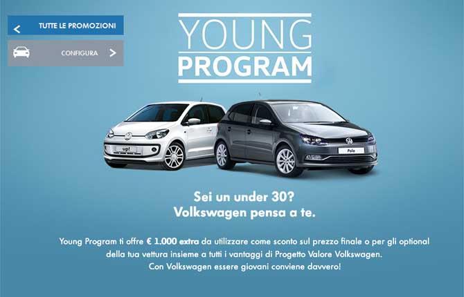 Volkswagen pensa ai giovani, una gamma completa per i neopatentati