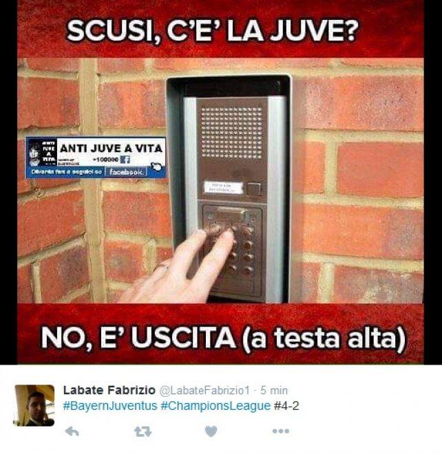 Champions, beffa Juve a Monaco: ironia amara su Twitter