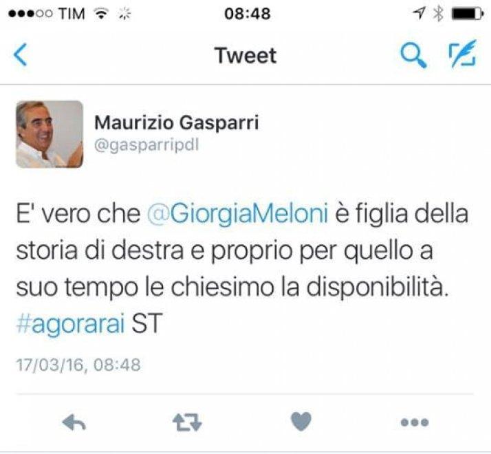 Gasparri, inciampo social sul passato remoto: chiedemmo diventa #chiesimo