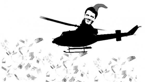 Taglio alle tasse, ecco l'Helicopter money di Renzi