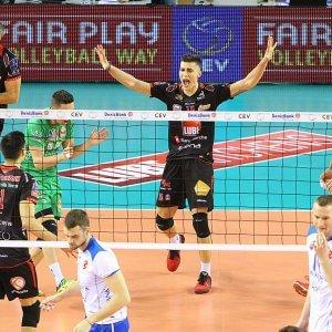 Volley, Champions: Trento travolgente, la Lube rimonta e vince