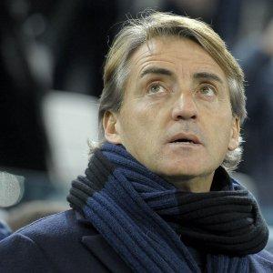 """Inter, Mancini: """"Battere la Roma sarebbe fondamentale. Eder? Gli manca solo il gol"""""""