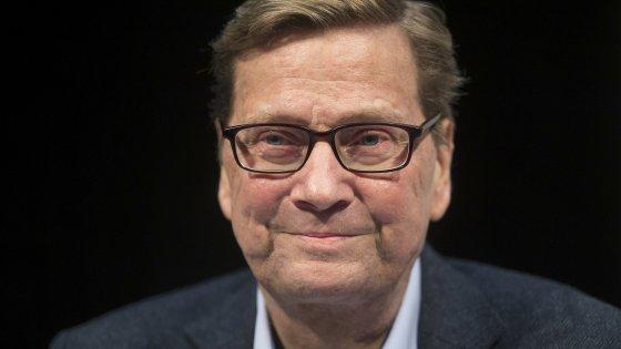 Germania, morto l'ex ministro degli Esteri Westerwelle