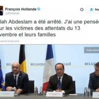 Molenbeek, arresto Salah: Hollande e Michel seguono le operazioni