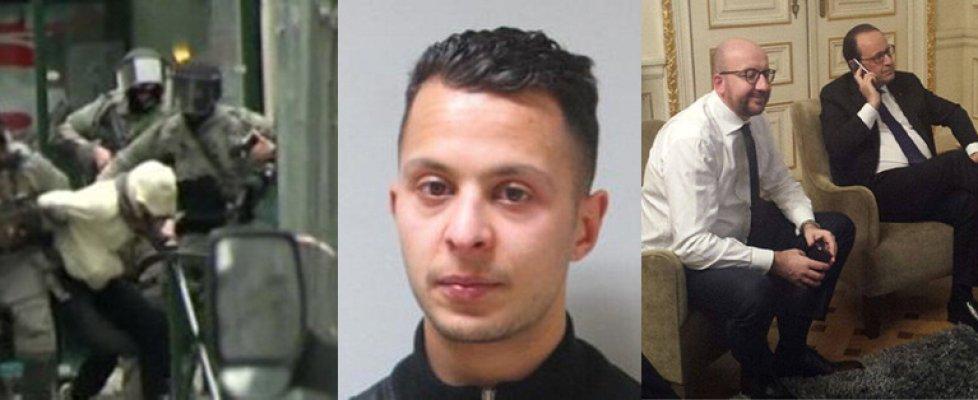 Salah Abdeslam ferito e arrestato a Bruxelles: ricercato per 4 mesi per gli attentati di Parigi