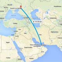 Russia, schianto aereo in atterraggio: la mappa