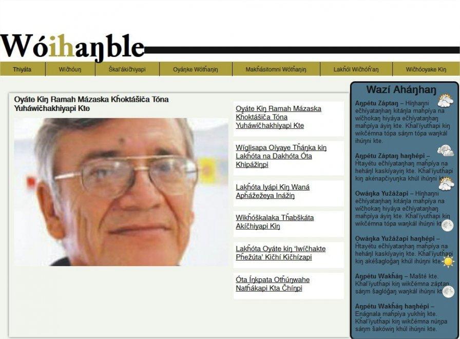 Usa, un sito web in Lakota per non far morire la lingua dei Sioux