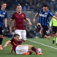 Roma-Inter 1-1, Nainggolan risponde a Perisic