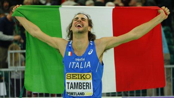 Atletica, mondiali indoor; Tamberi oro nell'alto: ''E ora una medaglia a Rio''