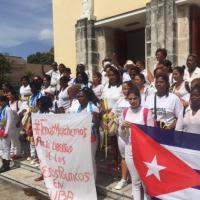 Dissidenti Cuba, all'Avana manifestano le Damas de Blanco