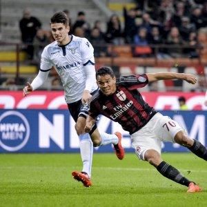 Milan-Lazio 1-1: Bacca replica a Parolo, poi Marchetti para tutto