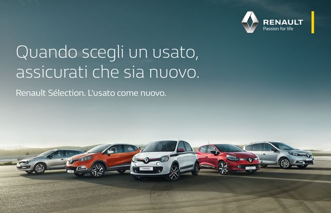 Usato Renault, aumenta l'offerta