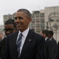 Obama a Cuba, l'incontro con Raul Castro al Palazzo della Rivoluzione