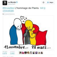 Bruxelles sotto attacco, la solidarietà nelle vignette da tutto il mondo