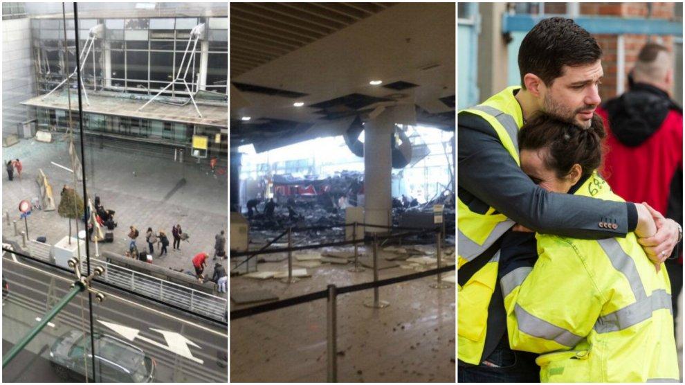 Bruxelles sotto attacco: il fotoracconto degli attentati
