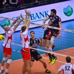 Volley, Champions: Trento vince anche in Russia e va alla Final Four