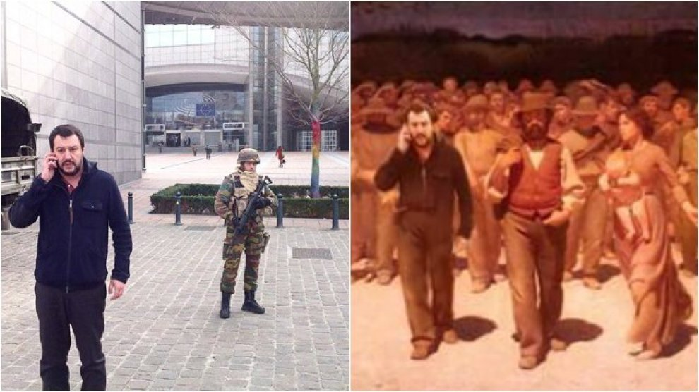 Attentati Bruxelles, #SalviniOvunque: i social contro il capo del Carroccio