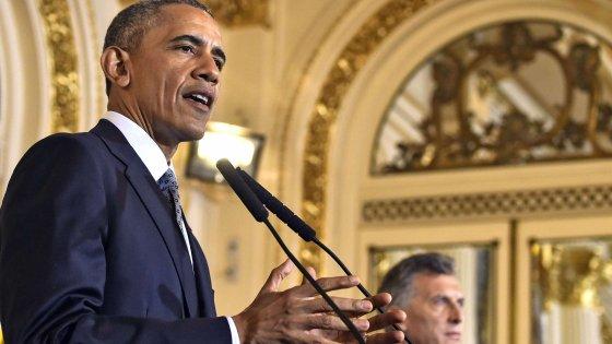 """Obama promette agli argentini la verità sulle relazioni tra Usa e dittatura militare. """"Torni la fiducia"""""""